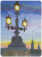 Хромова Вера — Вечер на Троицком мосту